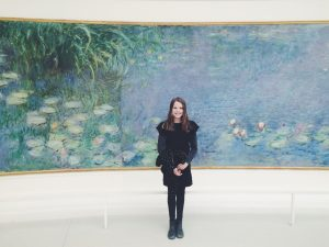 Paris France Claude Monet travel with tween