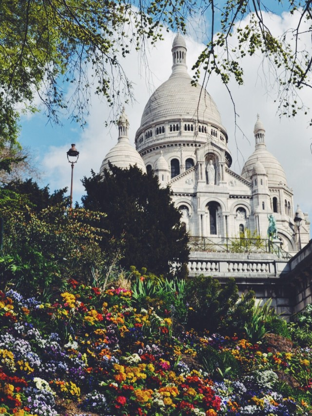 Paris France Montmartre travel with tween
