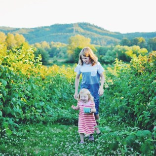 Kruger's Farm berry picking, Sauvie Island, Portland Oregon summer | Oregon Girl Around the World