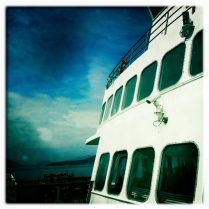 All aboard the Washington State Ferry