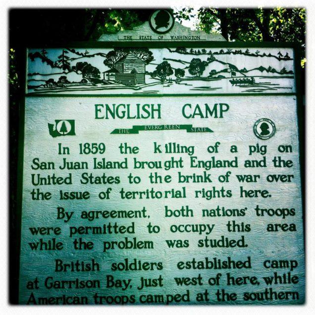 History on San Juan Island