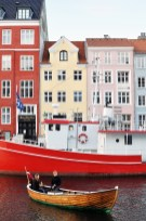 Colorful Copenhagen along classic Nyhavn Canal in a wooden Boat | Oregon Girl Around the World