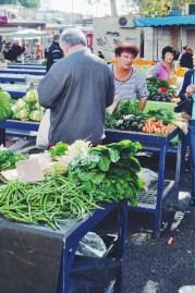 Green market near Diocletian's palace