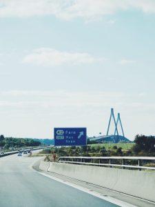 Danish bridge Farø Møn bro Bogø