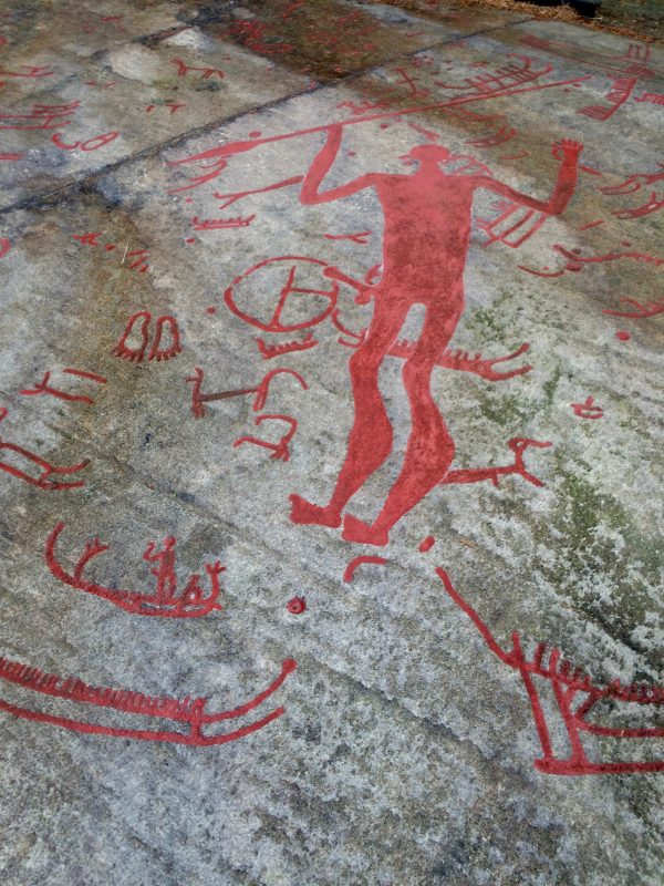 Scandinavia rock art tanum petroglyphs oregon girl