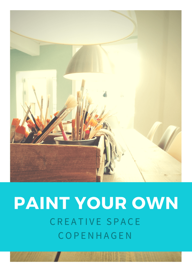 Paint Your Own Pottery | Creative Space Copenhagen Østerbro | by Oregon Girl Around the World