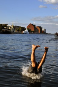 Ofelia Plads Danish Dip Swimming Harbor | Sustainable Summmer Fun in Copenhagen | Oregon Girl Around the World
