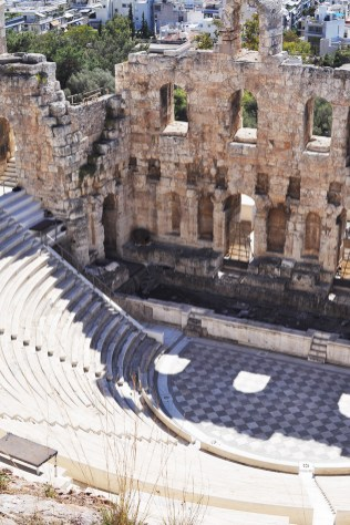 Odeon of Herodes Atticus Amphitheater | Reasons to Adore Athens Greece | Oregon Girl Around the World