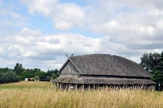 Viking Long House Reconstruction | Trelleborg Slagelse Denmark | oregon girl around the world