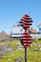 Boating signs Adorn the Tiny Island of Åstol West Sweden | Oregon Girl Around the World