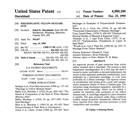 Seed patent