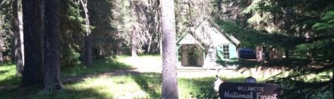 Box Canyon Guard Station - Forest Service