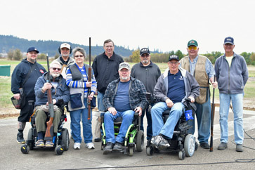 Trap Shooting with Oregon Paralyzed Veterans of America (OPVA)