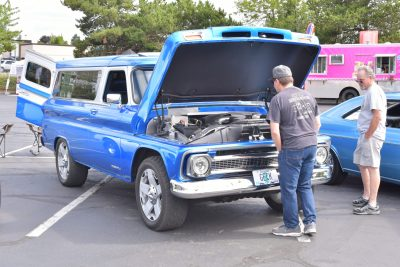Under the hood at 2019 Show and Shine Car Show with Oregon Paralyzed Veterans of America (OPVA)
