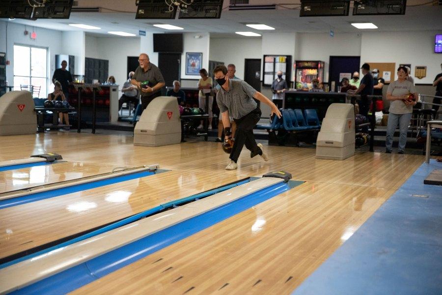 2021 Oregon Senior Games - Bowling - Amanda Loman