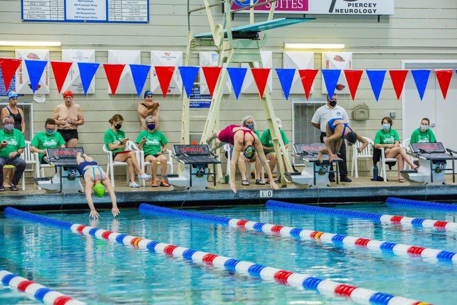 2021 Oregon Senior Games - Swimming - Kristi Crawford
