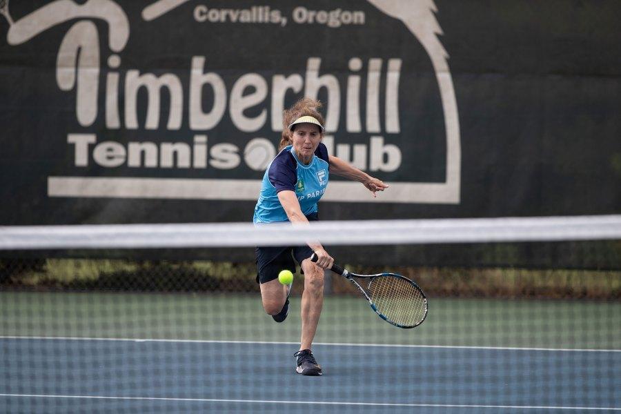 2021 Oregon Senior Games - Tennis - Amanda Loman