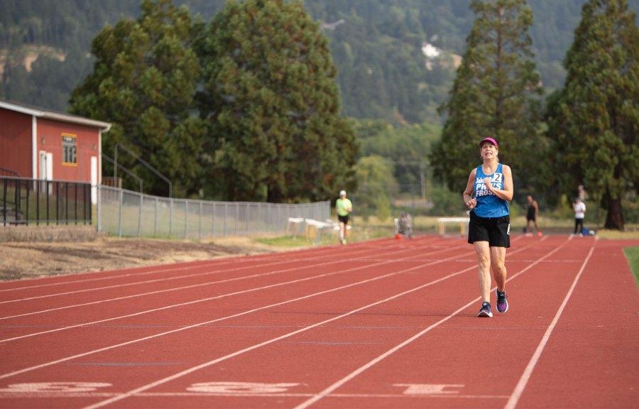 2021 Oregon Senior Games - Race Walk - Amanda Loman