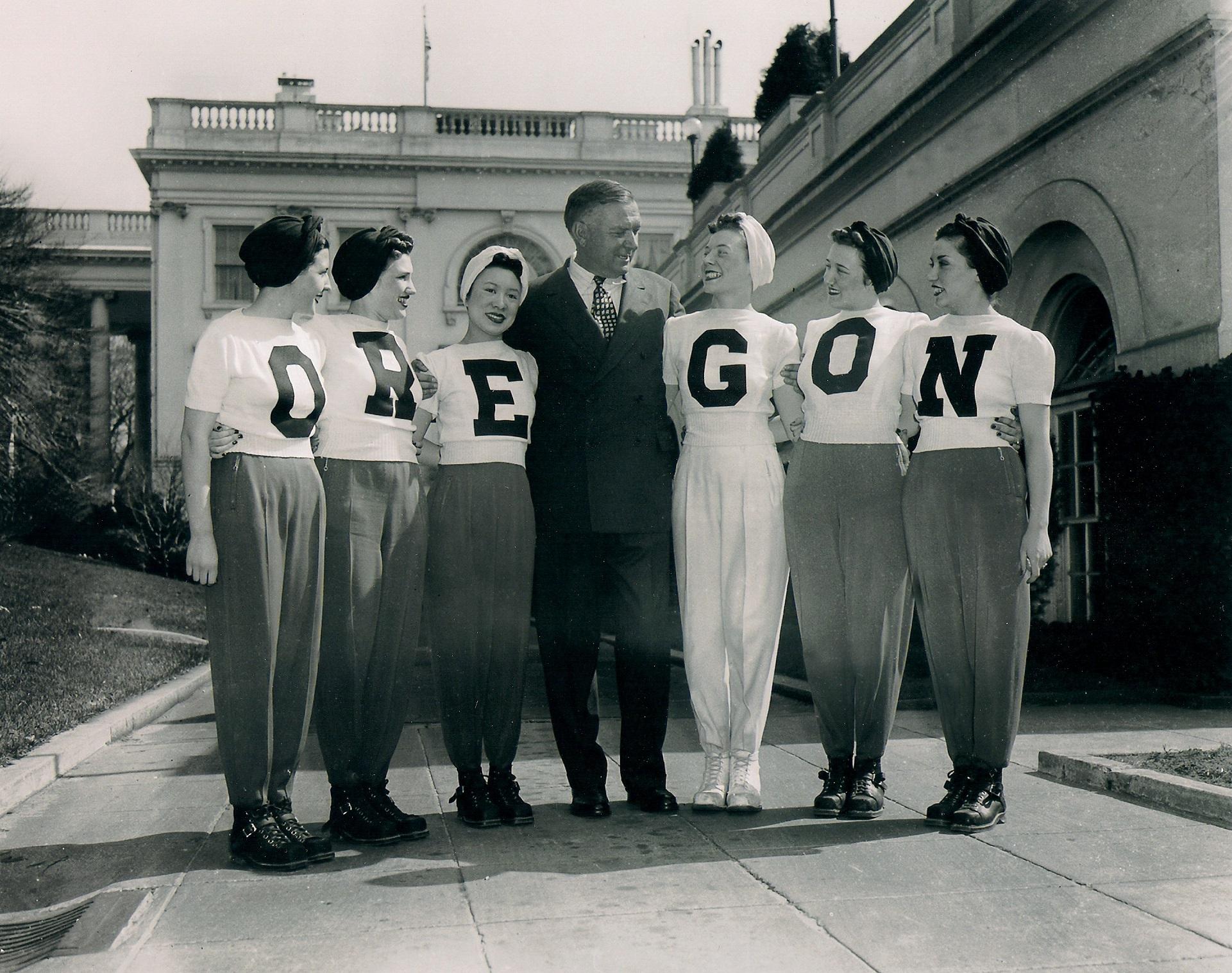 Early University of Oregon photo