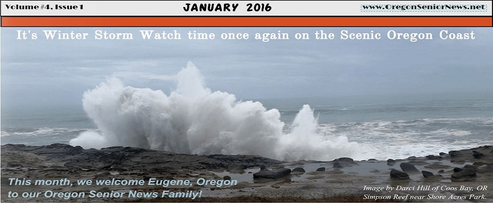 Oregon Senior News January 2016 Banner