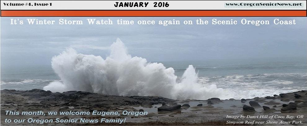 Oregon Senior News January 2016 Banner