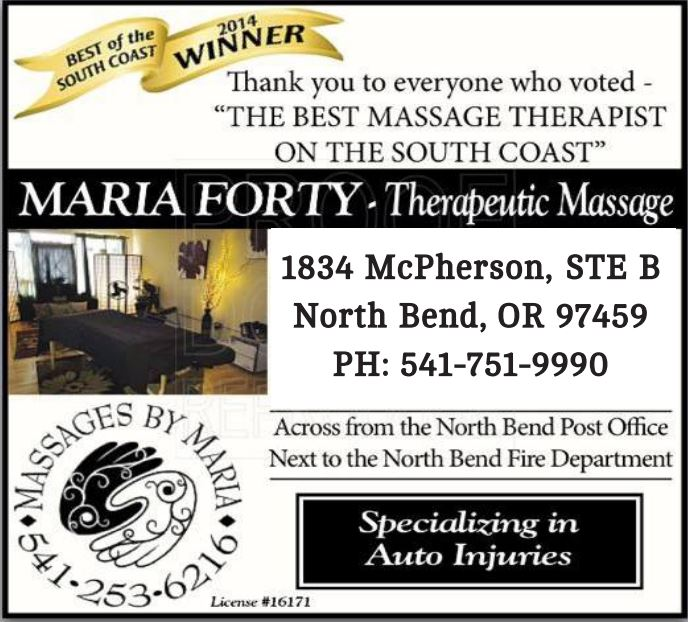 Maria Forty ad