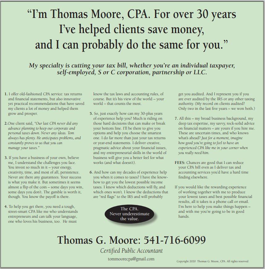 Tom Moore CPA