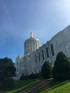 The Oregon legislature is ultimately responsible for approving the state budget.