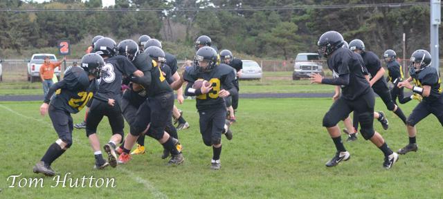 Harbor Lights Middle School Football vs Reedsport Middle
