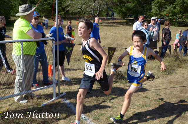 Harbor Lights Middle School Cross Country at Woahink