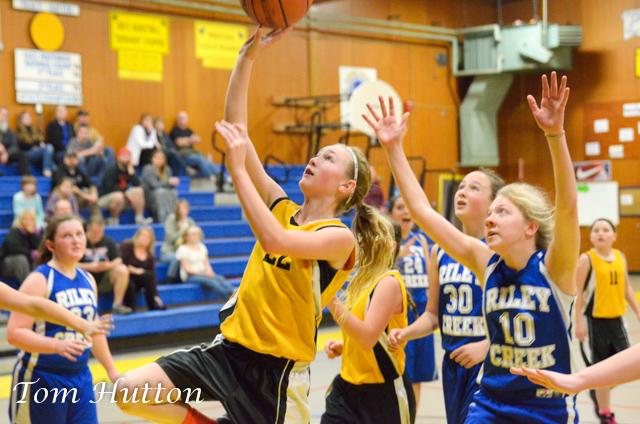 Harbor Lights Middle School Basketball vs Gold Beach