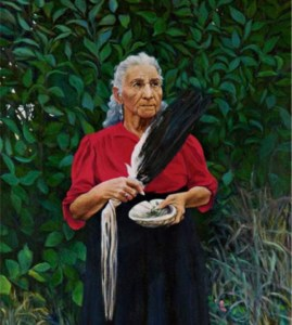 Carolyne D. Landon Woman Painting