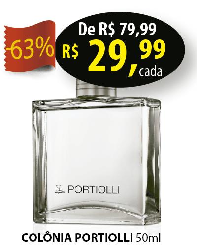COLONIA DESODORANTE MASCULINA PORTIOLLI 50ML