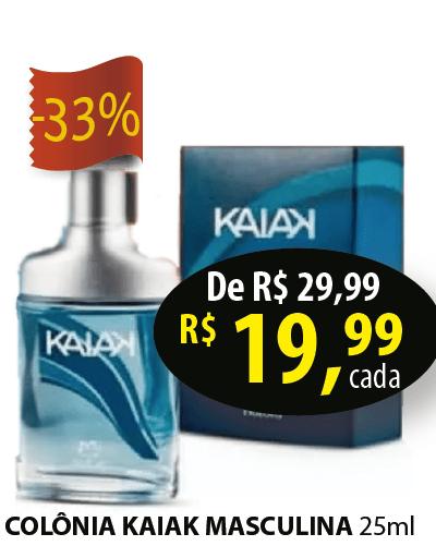KAIAK MASC DES COL 25 ML NAT18