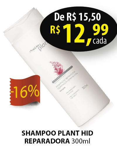 PLANT HIDRATACAO REPARADORA SHAMPOO 300ML