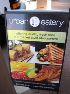 Urban Eatery, Charlottetown, août 2009