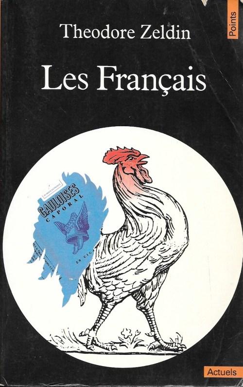 Theodore Zeldin, les Français, 1983, couverture