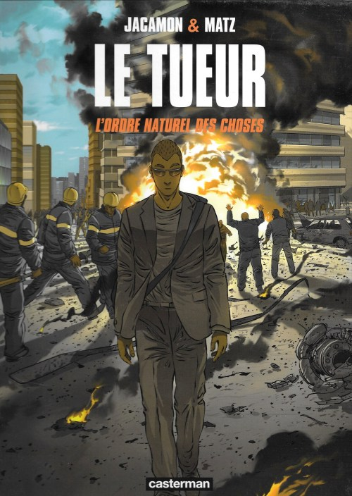 Le Tueur. Volume 8. L'ordre naturel des choses, 2010, couverture