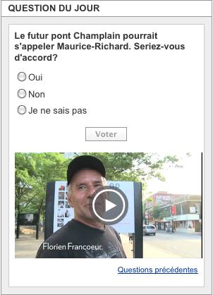Un pont Maurice-Richard ?
