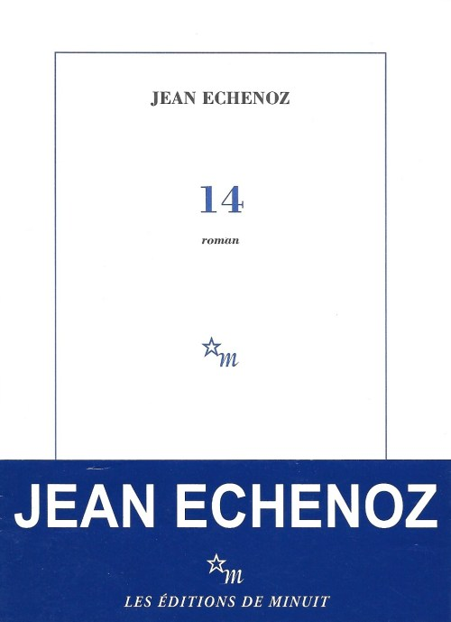 Jean Echenoz, 14, 2012, couverture