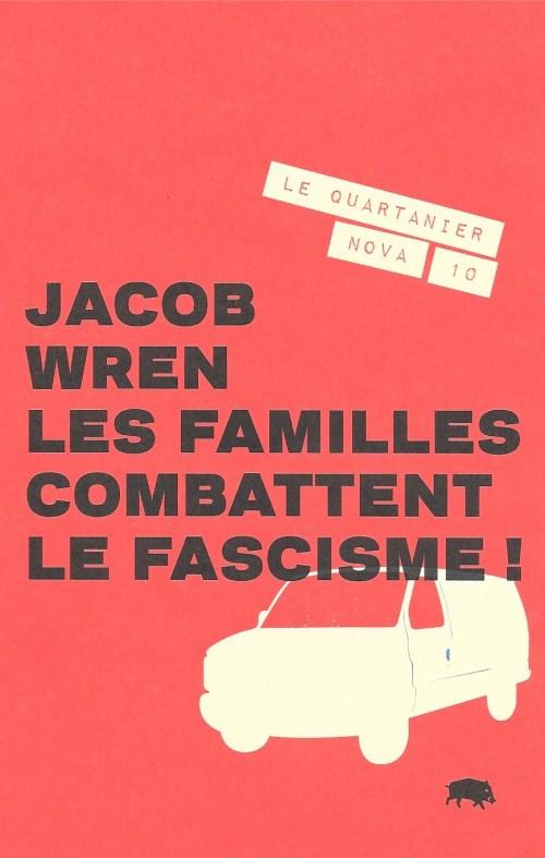 Les familles combattent le fascisme !, 2013, couverture