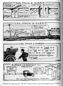 Illustration tirée de l'ouvrage collectif le Français au Québec (2000, p. 150)