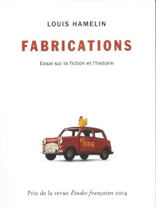 Louis Hamelin, Fabrications, 2014, couverture