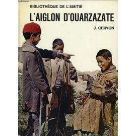 J. Cervon, l'Aiglon d'Ouarzazate, couverture