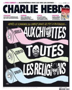 Charlie hebdo et les religions