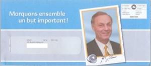 Guy Lafleur dans une publicité de la Fondation des maladies mentales du Québec