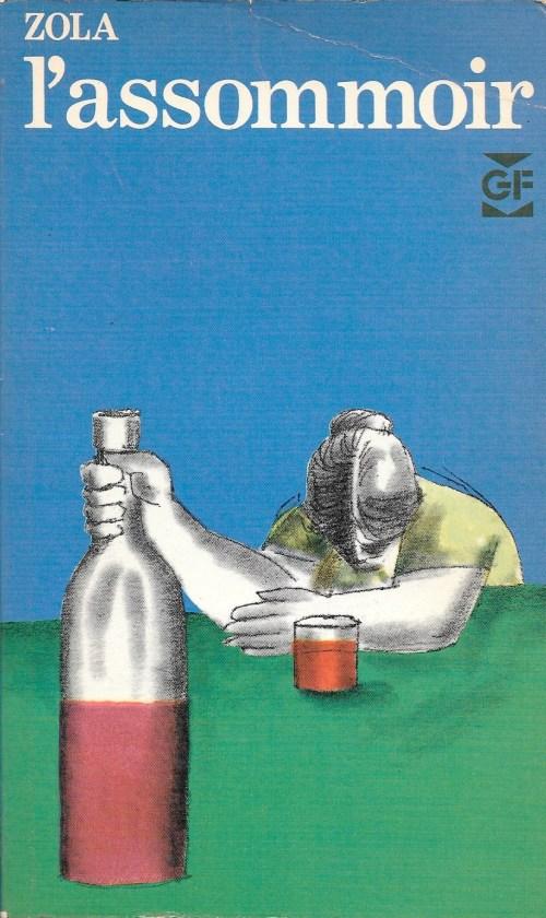Émile Zola, l'Assommoir, éd. de 1969, couverture