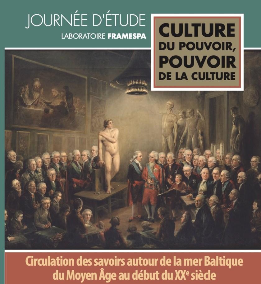 Colloque «Culture du pouvoir, pouvoir de la culture», 4 mars 2021, affiche