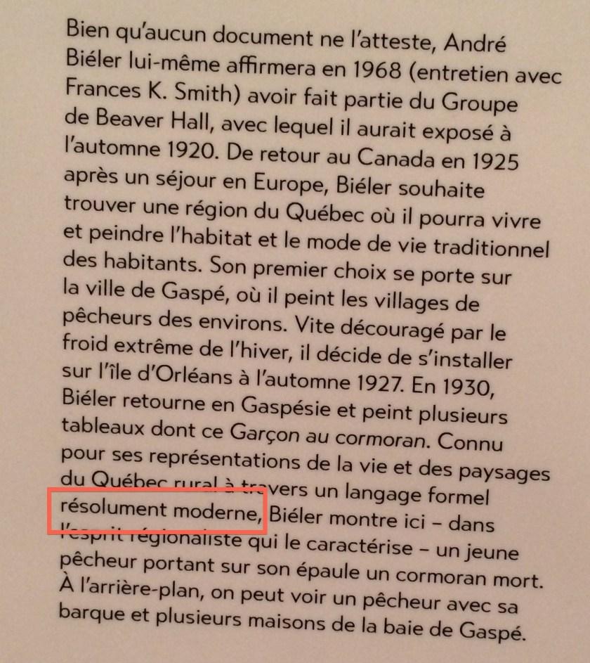 Exposition la Couleur du jazz. Une modernité des années 1920. Montréal, le Groupe de Beaver Hall