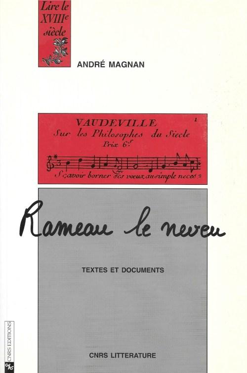 André Magnan, Rameau le neveu, 1993, couverture
